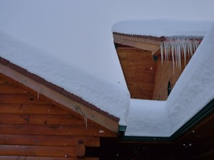 The snow on roof tops has been the topic of quite a bit of news around here.